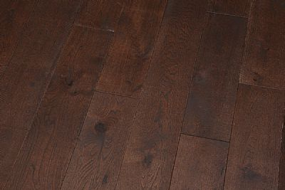 125mm Oak 'coffee' UV oil eng